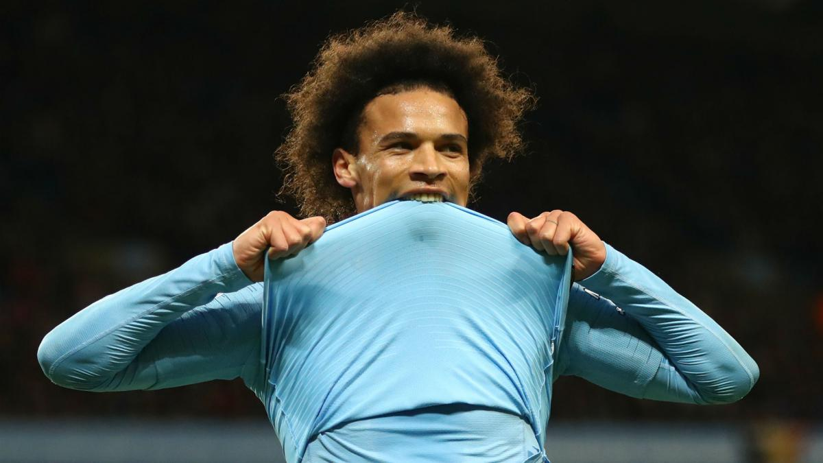 Guardiola hails Sane's recipe for success