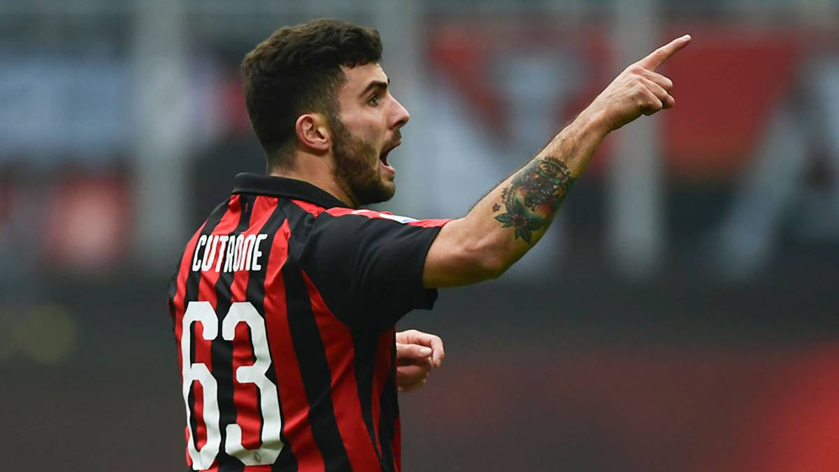 Gattuso coy on Ibrahimovic move but delighted with Cutrone