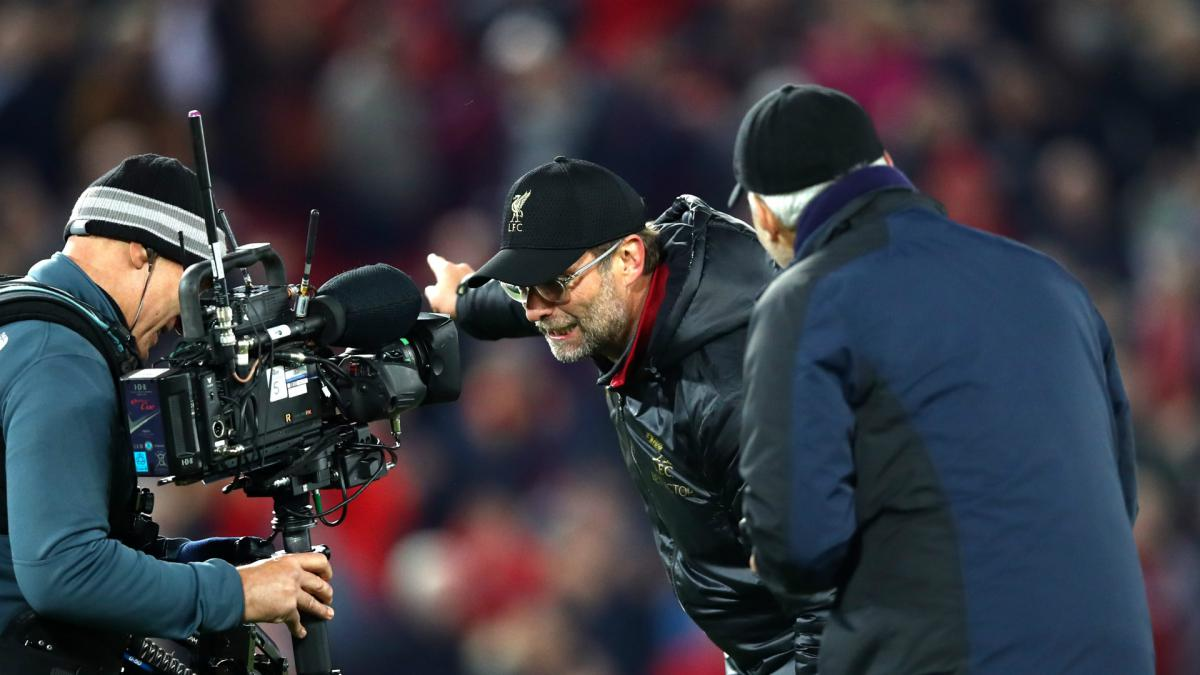 Klopp apologises for running on pitch to celebrate Merseyside derby winner