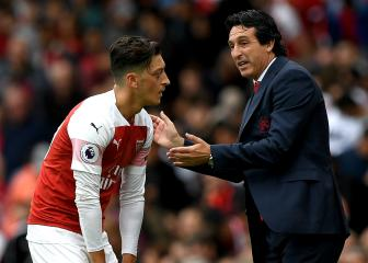 Emery: I don't know if Ozil attended north London derby