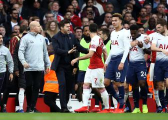 Arsenal and Tottenham charged by FA after derby fracas
