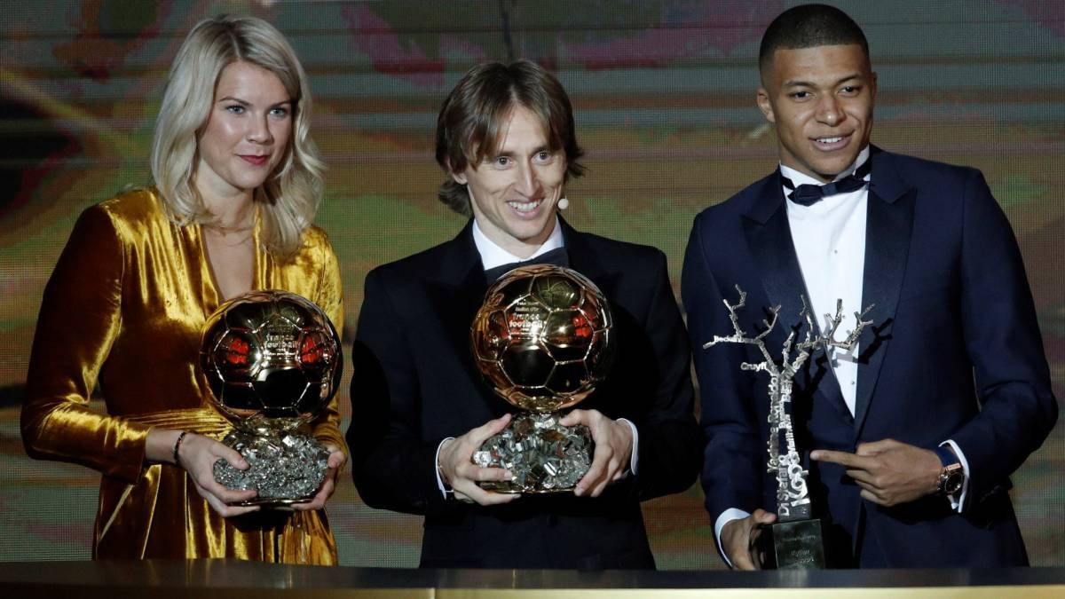 The 2018 Ballon d'Or ceremony as it unfolded in Paris