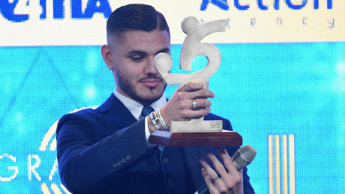 Icardi named Serie A Footballer of the Year, Allegri takes coach's gong