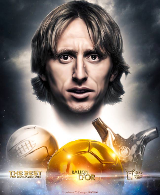 Modric Ballon d'Or 2018