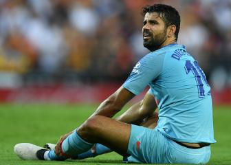 Diego Costa foot surgery successful, Atlético confirm