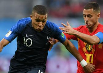 Hazard the best player I faced this year, says Mbappé