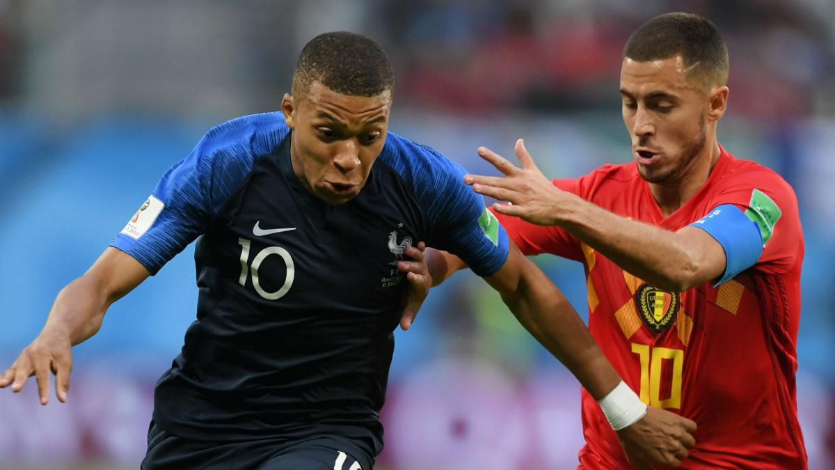 Mbappé: Hazard the best player I faced this year
