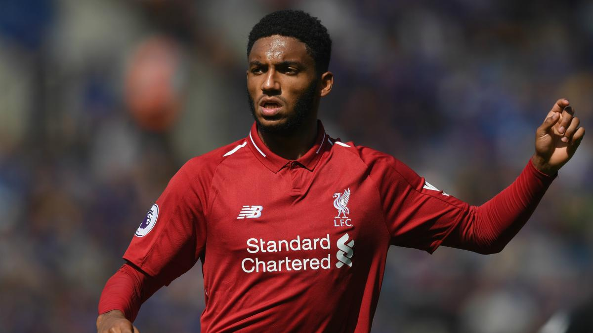 Liverpool's Gomez is ruled out for up to six weeks