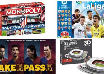 AS English Spanish football Christmas gift guide