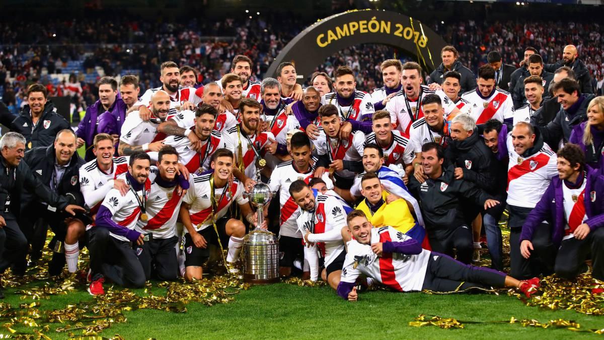 River Plate Copa Libertadores Champions 2018 AS Com