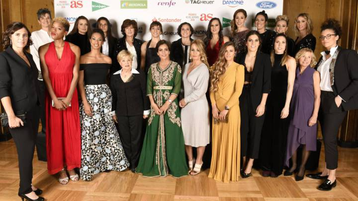 AS celebrates female athletes at 2018 awards gala