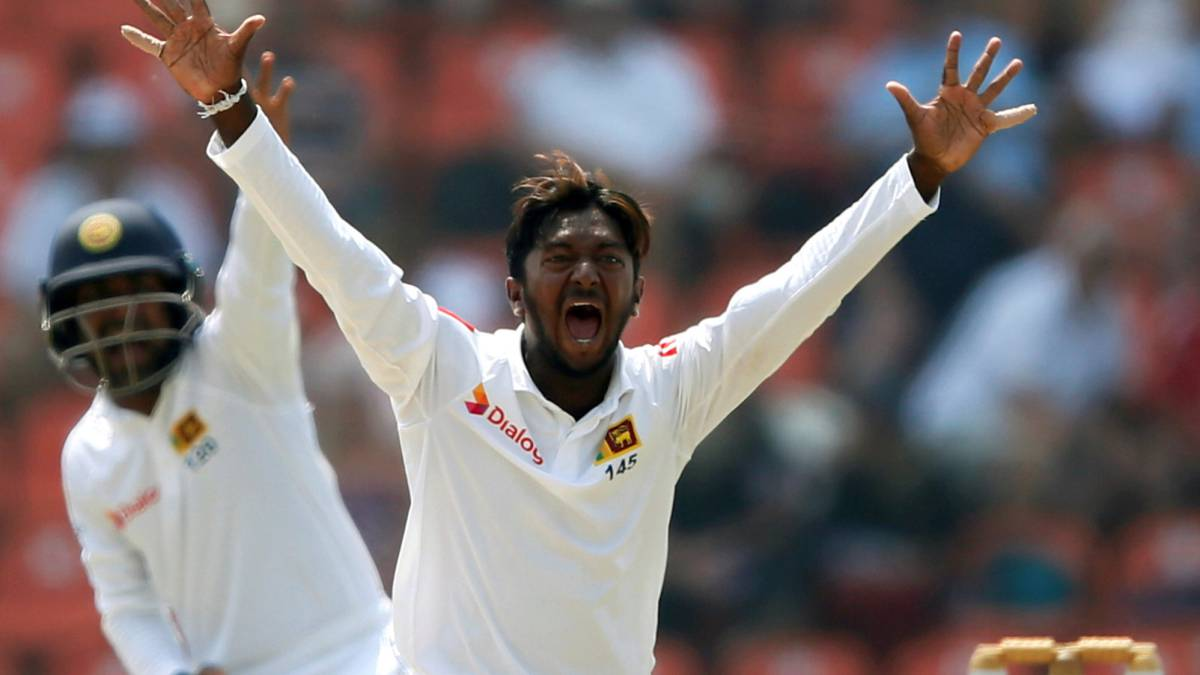 Sri Lanka bowler suspended over illegal action