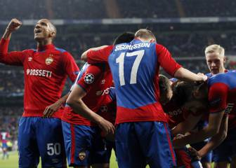 Real Madrid 0-3 CSKA: Holders' heaviest home defeat in Europe
