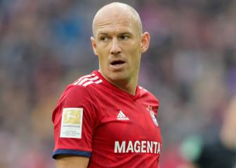 Robben out until January as Bayern look to avoid serious injury