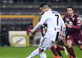 Cristiano Ronaldo settles feisty Turin derby from the spot