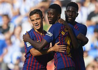 Valverde: Barcelona can get the best out of Coutinho & Dembélé
