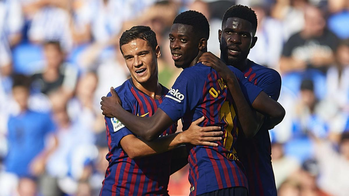 Barcelona can get the best out of Coutinho & Dembélé, claims Valverde - AS English