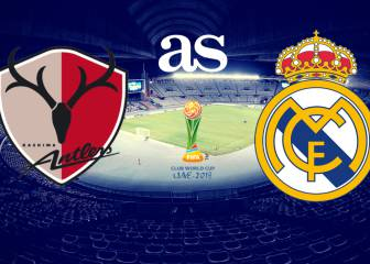 Kashima Antlers - Real Madrid: how and where to watch