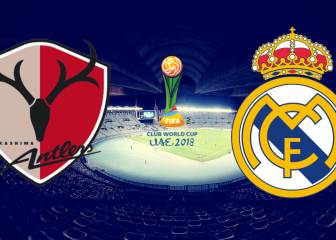 Kashima Antlers - Real Madrid: Club World Cup semi-final live!