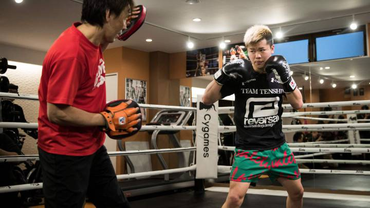 Tenshin Nasukawa aims to take down Mayweather