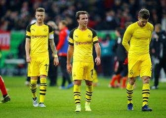 Dortmund must accept first defeat of season at Dusseldorf - Favre