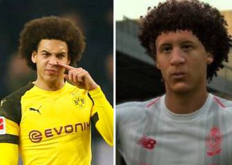 Dortmund's Axel Witsel asks EA Sports to