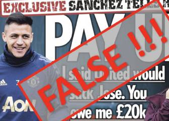Sanchez denies he had £20k bet on Mourinho getting sacked