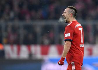 Age is just a number for Bayern's Franck Ribery