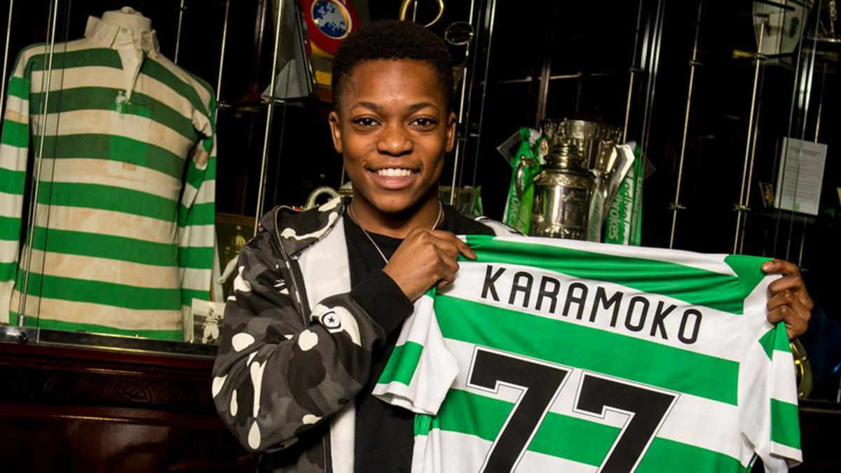 Teenager Dembele signs professional Celtic deal