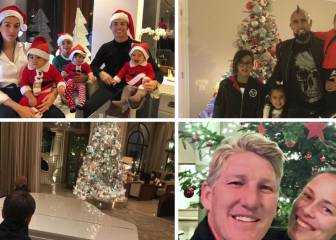 Christmas greetings from Cristiano, Suarez, Vidal, Digne...