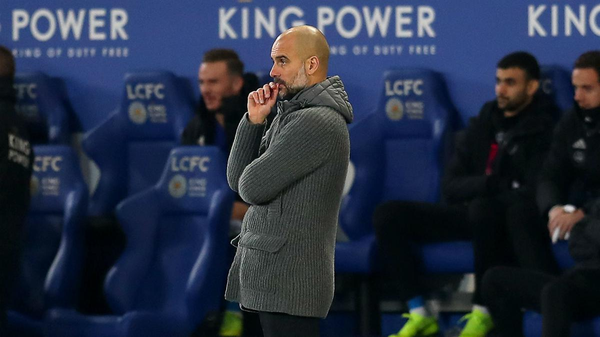 Guardiola will not doubt faltering Manchester City