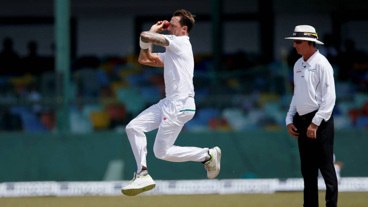 Dale Steyn becomes South Africa's leading Test wicket-taker