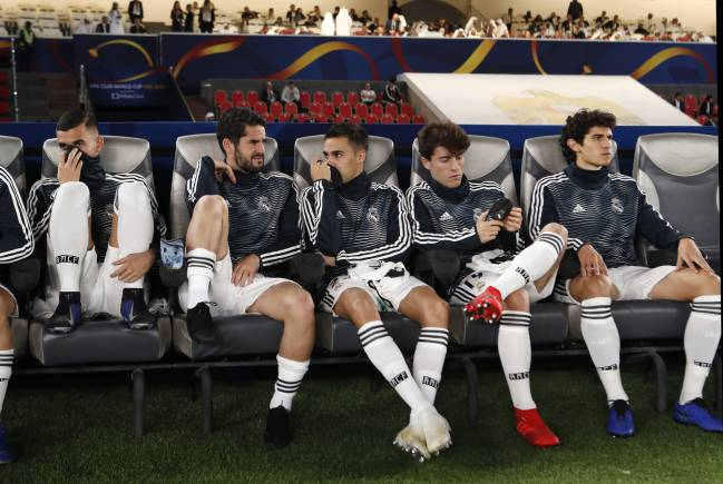 Benched again | Isco has found this a common place since Solari took over.
