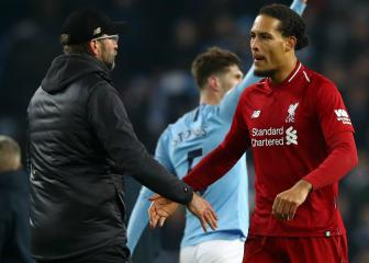 Liverpool shouldn't panic after City defeat, insists Van Dijk