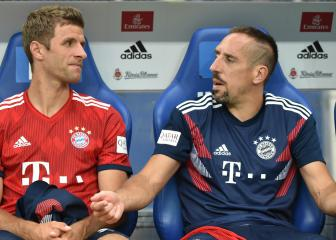Muller backs Bayern team-mate Ribery after social media outburst