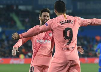Messi, Suárez miss Barcelona's Copa del Rey tie at Levante