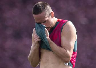 Ribéry facing time out with hamstring injury
