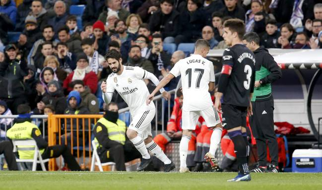 Changing man | Against Betis we may see a start for Isco.