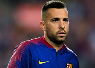 Jordi Alba doesn't know if Barça want to extend contract