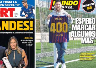 Messi: Impossible to reach 400 goals without team mates
