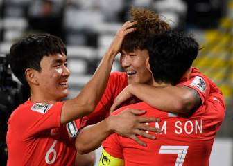 South Korea lay down Asian Cup marker with Son to the fore