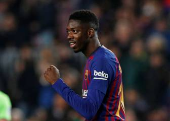 Dembélé does the damage for Barcelona