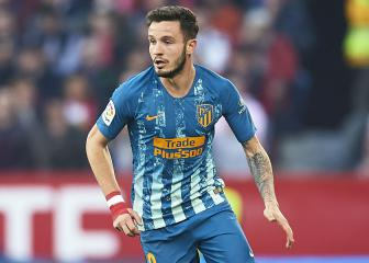Atlético Madrid confirm Saúl has thigh injury