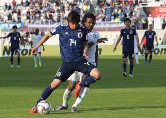 Japan see off Saudi to reach quarters