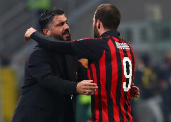 Gattuso ready to move on from Higuain - 'He made his choice'