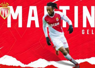 Atlético's Gelson Martins joins Monaco on loan