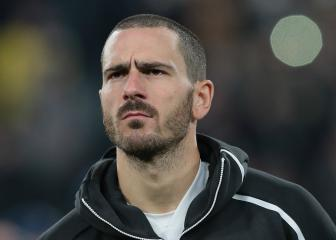 Juventus confirm Bonucci ankle injury