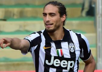 Cáceres in line for third Juventus debut at Atalanta