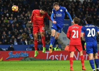 Klopp wary of Vardy as Foxes head to Anfield