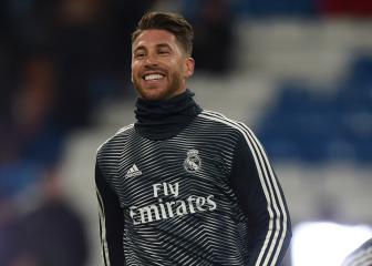 Sergio Ramos fit to face Girona in Copa del Rey